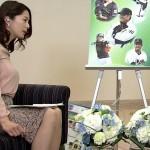 【GIF有】杉浦友紀さんの超デカおっぱいが凄すぎたw小久保監督も圧倒される着衣巨乳w
