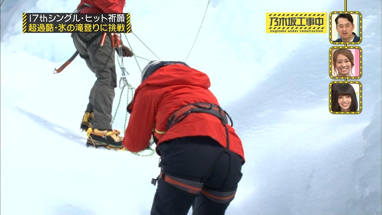 (えろ写真)乃木坂46メンバーの登山お下半身。ローアングルで狙うカメラマン、いい仕事してますねー。