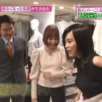 小島瑠璃子さんのめちゃデカおっぱいwこじるり着衣巨乳に注目なヒルナンデス!