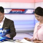 なんとなく透けブラっぽく見えちゃう杉浦友紀さんのおっぱいwサンデースポーツエロ目線キャプ画像