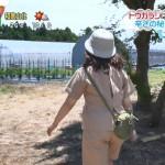 尾崎里紗さんのお尻wこの衣装でよくケツをぬかれる女子アナwZIP!エロ目線キャプ画像