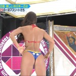 フィットネスビキニ大臣・安井友梨さんのスーパーボディが美しくエロい戦え!スポーツ内閣キャプ画像ww
