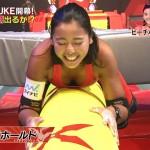 ビーチバレー坂口佳穂さんのおっぱいとパッツパツのお尻wKUNOICHIエロ目線キャプ画像