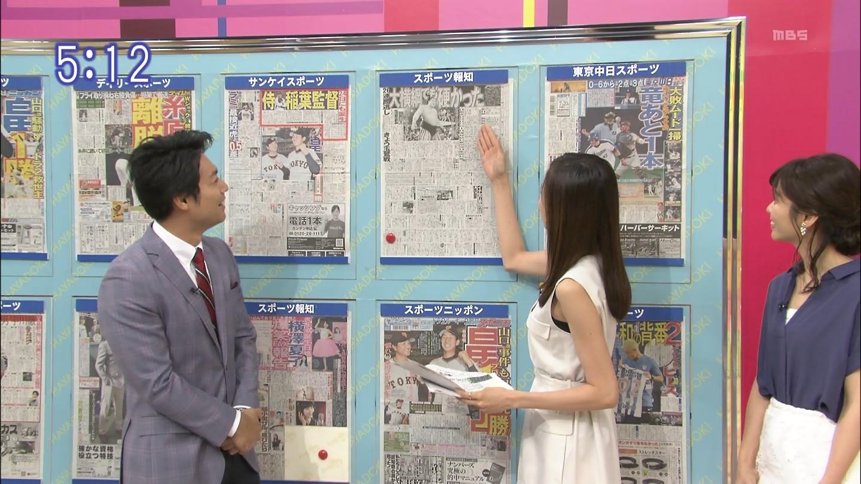 【アダルト画像】笹川友里さんのワキから見えるお胸の膨らみの始まり♪コレはパイオツの開始地点♪