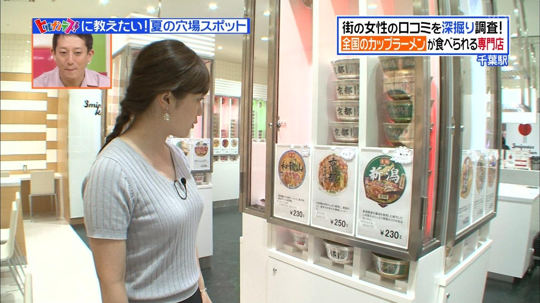 【エロ画像】水卜麻美さんの乳!!!顔を埋めにいって弾力で弾き飛ばされたい巨乳な着衣巨乳!!!!!!