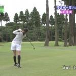 稲村亜美さんのお尻wショットの瞬間の引き締め力がめっちゃ強そうなキュッと絞り込まれたケツwww