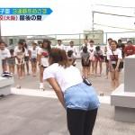 青木愛さんの制服姿とダンスを踊るお尻が魅力的な「戦え!スポーツ内閣」エロ目線キャプ画像