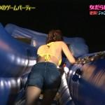 小倉優香さんの水着おっぱい、ショートパンツと浴衣のお尻がめっちゃエッチな「佳代子の部屋」エロ目線キャプ画像