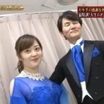 水卜麻美さん、ヒルナンデス!ラスト出演でスケスケドレスを着用しまぁまぁおっぱい見せるwww