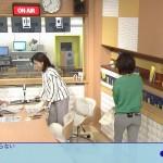 ニュースチェック11・大成安代さんのピタパンお尻w小さめのキレイな形がたまんない後ろ姿www