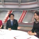 矢島悠子さんの胸が豊満wニットの膨らみがめっちゃデカいJチャンネルキャプ画像。