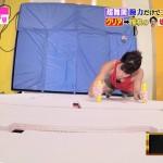 太田理裟さんの胸の谷間が気になるセクシークライミングw炎の体育会TVキャプ画像