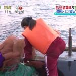 YTV・諸國沙代子さんのジャージお尻wパン線というか肉感がリアルなおケツwww