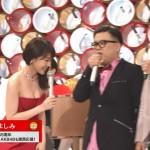 【乳揺れGIF有】NHK紅白歌合戦で有村架純さんのおっぱいがぷるんぷるん揺れまくりw