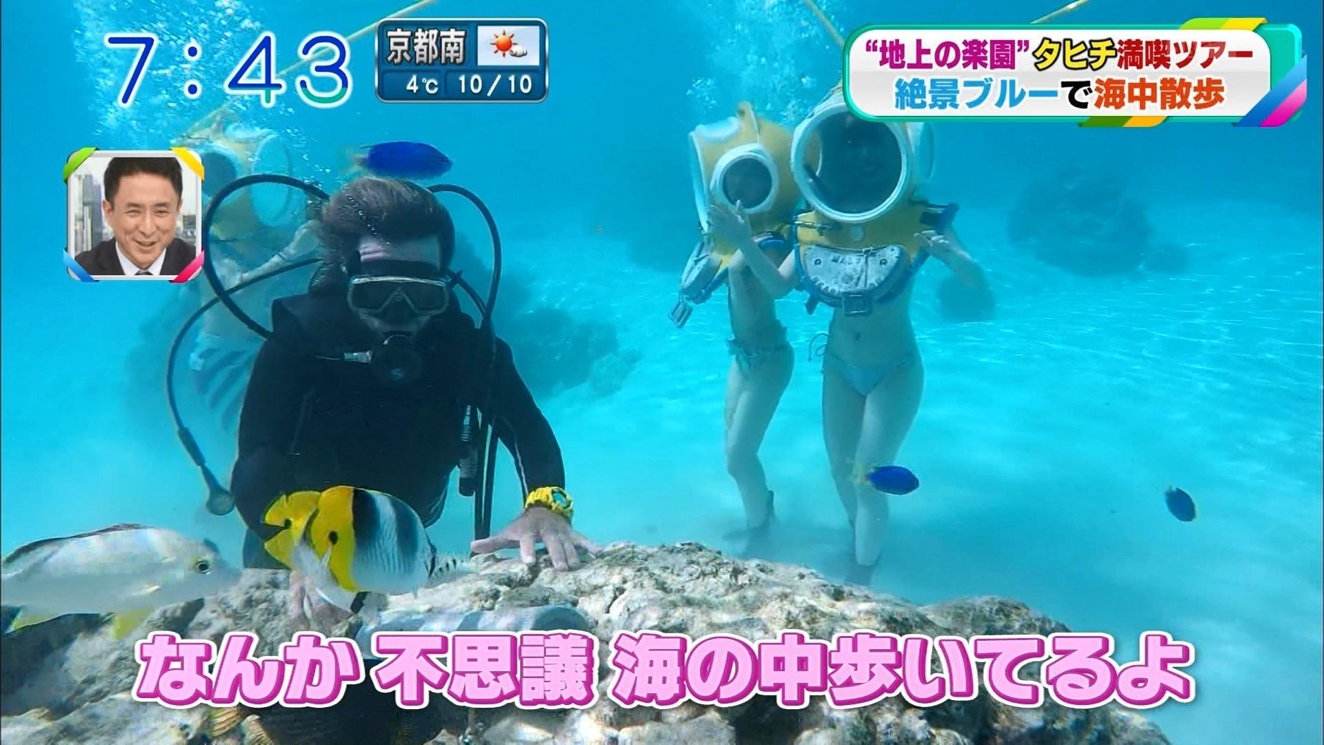 おはよう朝日です・田中良子さんの水着姿-18