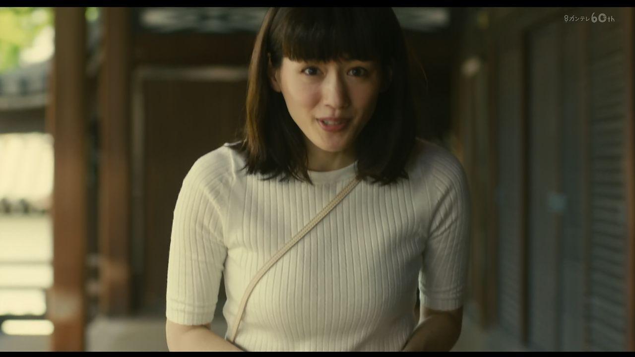 本能寺ホテル・綾瀬はるかさんのおっぱいキャプ画像6