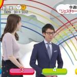 【乳揺れGIF有】團遥香さん、ZIP!ジェスチャークイズでまたしてもおっぱいユサユサ ω ω ω