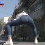 【画像・GIF】ジーンズやスカートのパツパツお尻やゆさゆさ揺れるおっぱいなどテレビ番組のエロシーンキャプ。