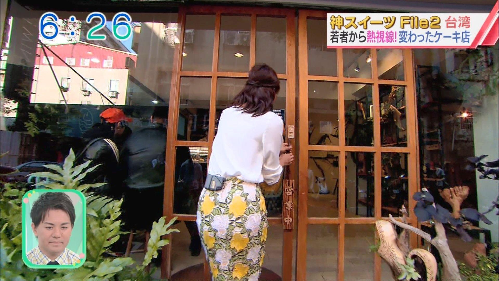 斎藤真美さんのお尻がエッチな台湾スイーツレポ24