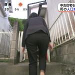 【画像】階段を昇る新美有加さんのお尻をずーっと後ろからフォローしたいめざましどようびω ω ω