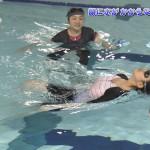 【画像・GIF】すイエんサーで水面プルプルおっぱい背泳25メートルω ω ω