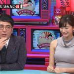 【画像】小倉優香さん、水曜日のダウンタウンでスタジオイチの存在感のあるおっぱいを披露ω ω ω
