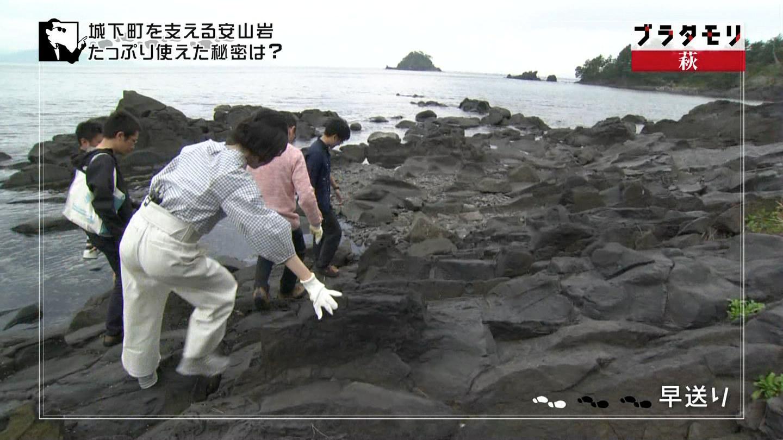 山口県・荻をぶらつく白いお尻-12
