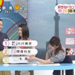 【画像】ムチムチでお馴染み日テレ・尾崎里紗さん、朝っぱらから胸チラおっぱいで視聴者を魅了 ω ω ω