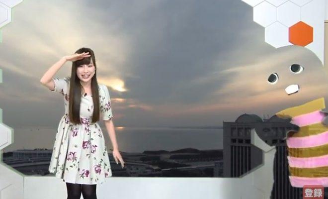 【movie】透明マジャピン事件の松雪彩花さん、また生放送ハプニングへの対応がチャーミングと話題にω ω ω