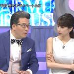 【画像】加藤綾子さん、ミュージックフェアでの白いパツパツ着衣巨乳おっぱいがエッチ!ω ω ω