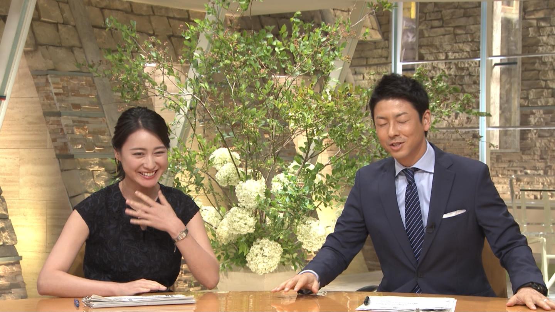 小川彩佳さんと富川悠太さん、イチャイチャ