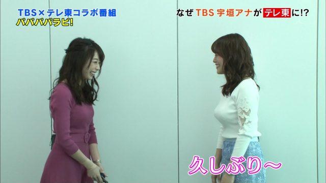 宇垣美里さんのセクシー画像