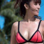 【画像】ワオ、ムチムチボディがエチエチな水着姿の深田恭子さんと海デート出来る権利を持つ男になりたい…😭😭😭