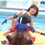 【画像・GIF】岸明日香さん、騎乗位かまされて悶絶…縄跳びでおっぱいもボヨヨンなエチエチすぎるロンハー水泳2018😍😍😍