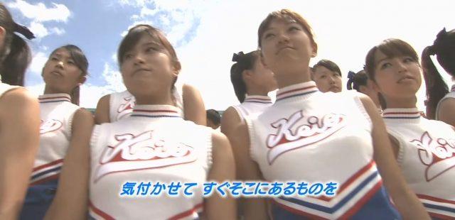 夏の高高校野球・慶応のチアガール