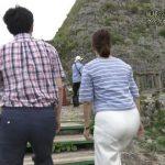 【画像・GIF】NHK・杉浦友紀さんのおっぱいとお尻の存在感…肉感的むっちりボディーがエチエチでだいすこ😍😍😍