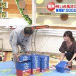 【画像・GIF】TBS・林みなほさん、ひるおび!生放送でめちゃめちゃおっぱいをチラつかせる大サービス😍😍😍