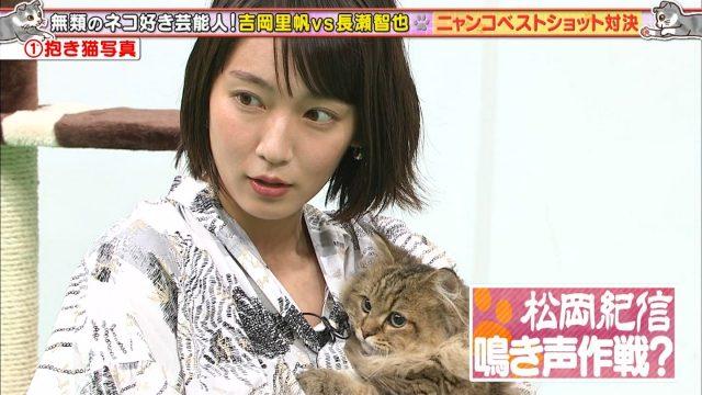 吉岡里帆さんのTOKIOカケルテレビキャプチャー画像-018