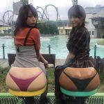 【画像・GIF】TBS・宇垣美里さん、テレ東・鷲見玲奈さん、Tバックで大きいお尻にご満悦😂😂😂