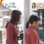 【画像】ZIP!團遥香さん、小江戸・川越を練り歩いてもおっぱいがエッチに膨らむ???