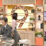 【画像・GIF有】NHKニュースウォッチ9・桑子真帆さん、今日のおっぱいがすごいデカくてブラ線もくっきりでエッチ!😍😍😍