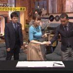 【画像】テレ東・FOOTBRAINで鷲見玲奈さんと佐藤美希さんのおっぱいがドッチもエッチでハンドしてしまいたい😂😂😂