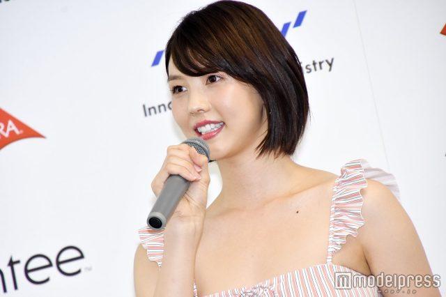 めざましテレビ・イマドキガール、松田紗和さんの水着姿の画像-071