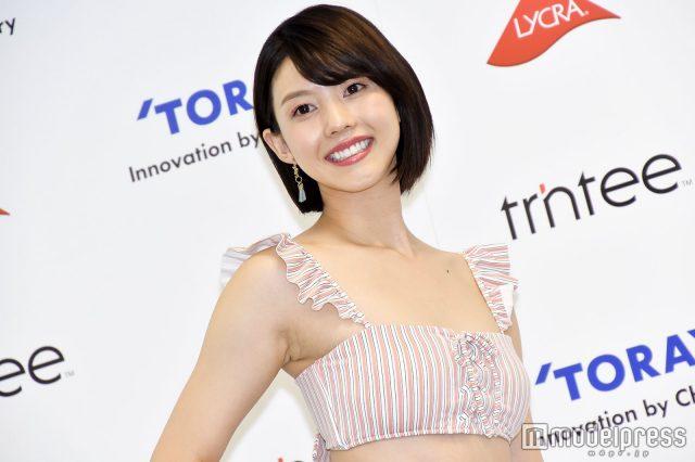めざましテレビ・イマドキガール、松田紗和さんの水着姿の画像-083