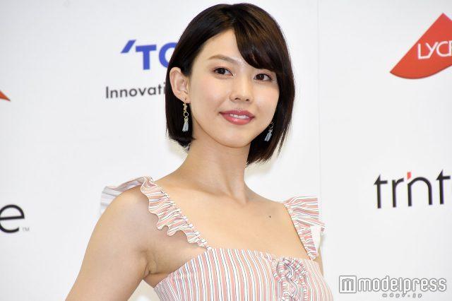 めざましテレビ・イマドキガール、松田紗和さんの水着姿の画像-058
