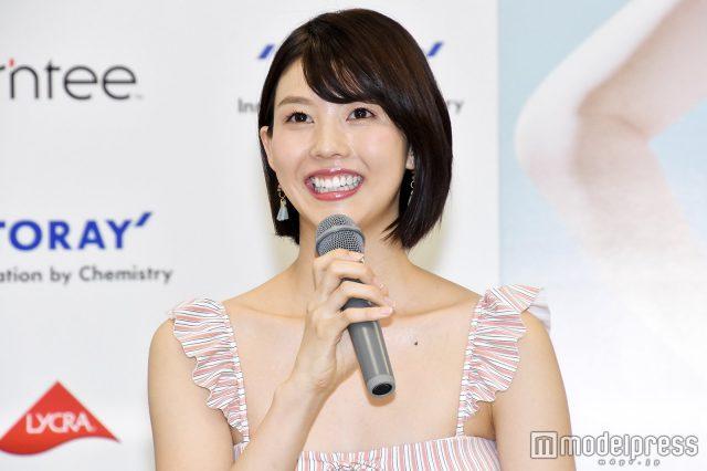 めざましテレビ・イマドキガール、松田紗和さんの水着姿の画像-073