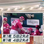 【画像】TBS・宇内梨沙さん、スポーツニュースの内容が頭に入ってこなさそうなニットおっぱいを見せる😍😍😍