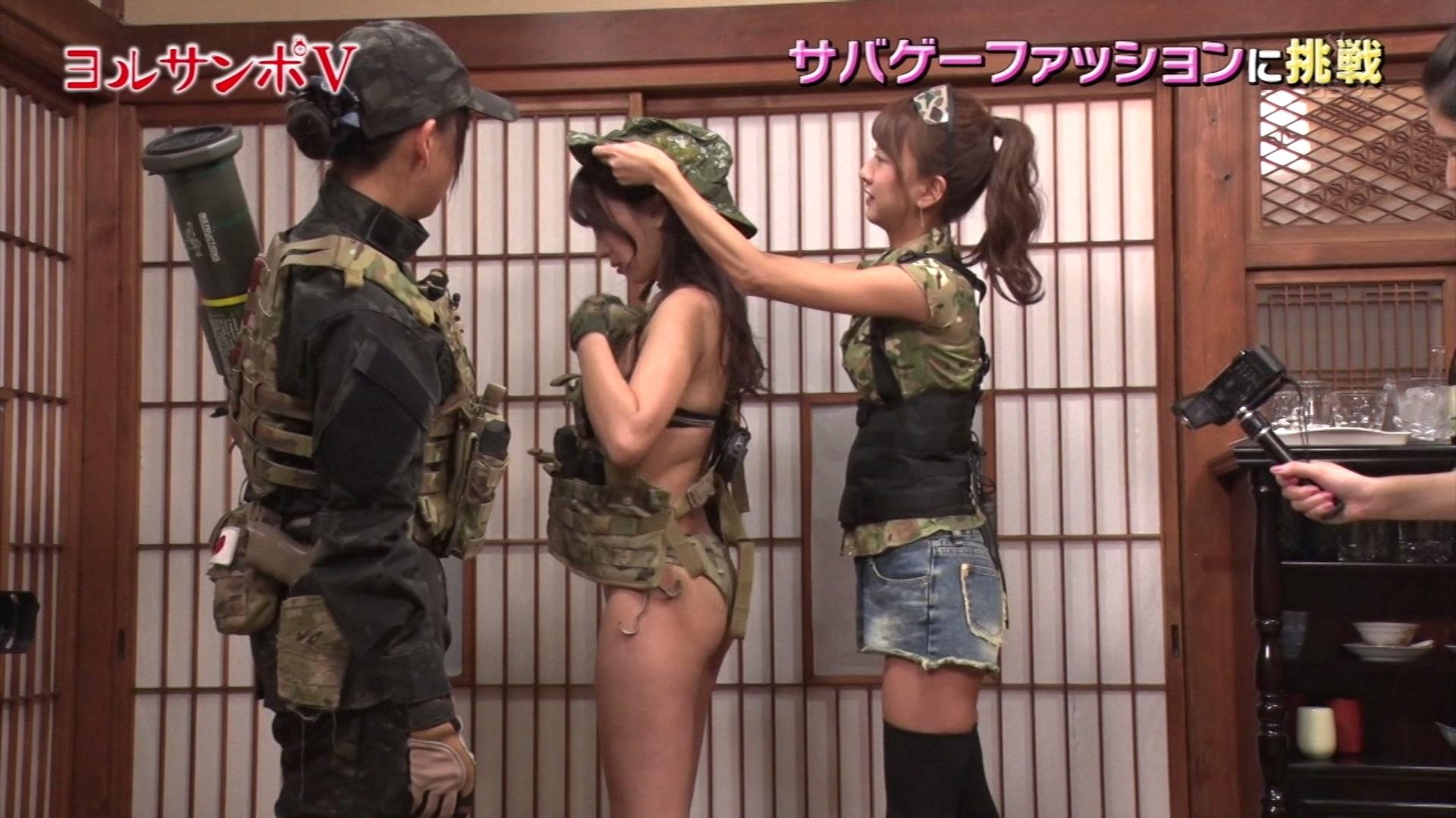 森咲智美さんの「橋本マナミのヨルサンポⅤ♯4」テレビキャプチャー画像-159
