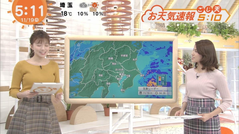 めざましテレビ・阿部華也子さんのテレビキャプチャー画像-008
