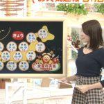 【画像】フジテレビ・永島優美さん、めざましテレビで早朝からツンツンにおっぱいを尖らせる😍